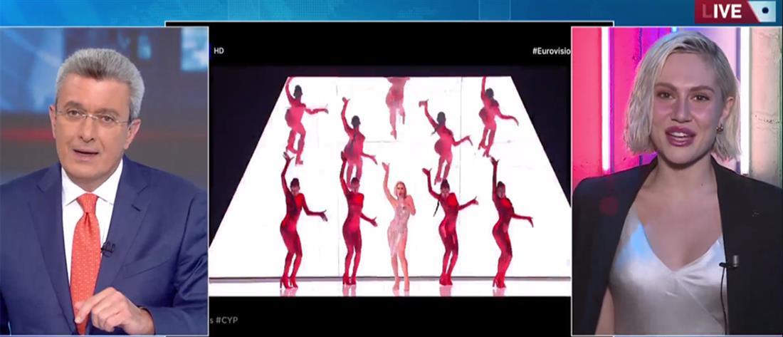 Έλενα Τσαγκρινού για Eurovision 2021 στον ΑΝΤ1: Κύπρος και Ελλάδα μαζί στον τελικό (βίντεο)