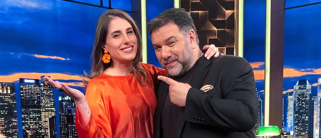 """Η Παυλίνα Βουλγαράκη στο """"The 2night Show"""": Γιατί πήγε με ψεύτικο όνομα στην πρώτη οντισιόν"""