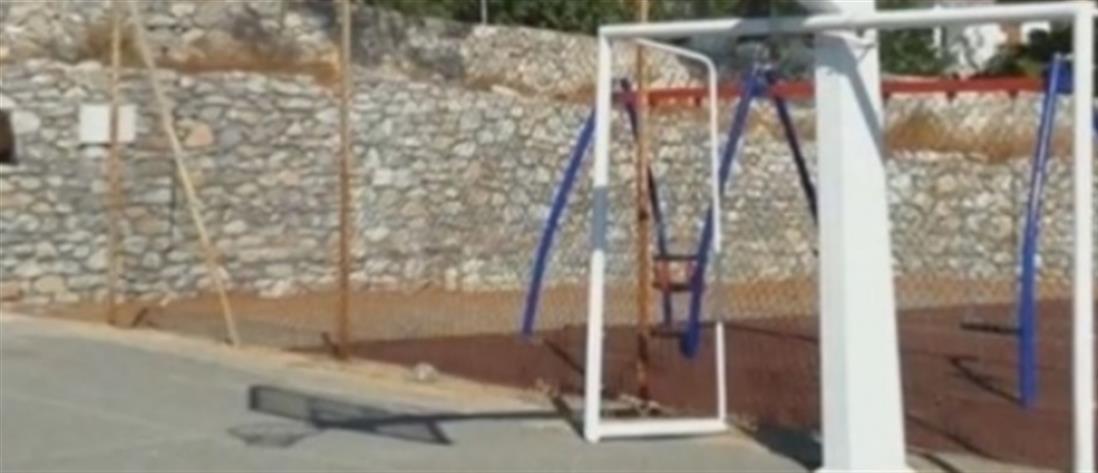 Σιδερένιο τέρμα καταπλάκωσε 10χρονο αγόρι σε γήπεδο