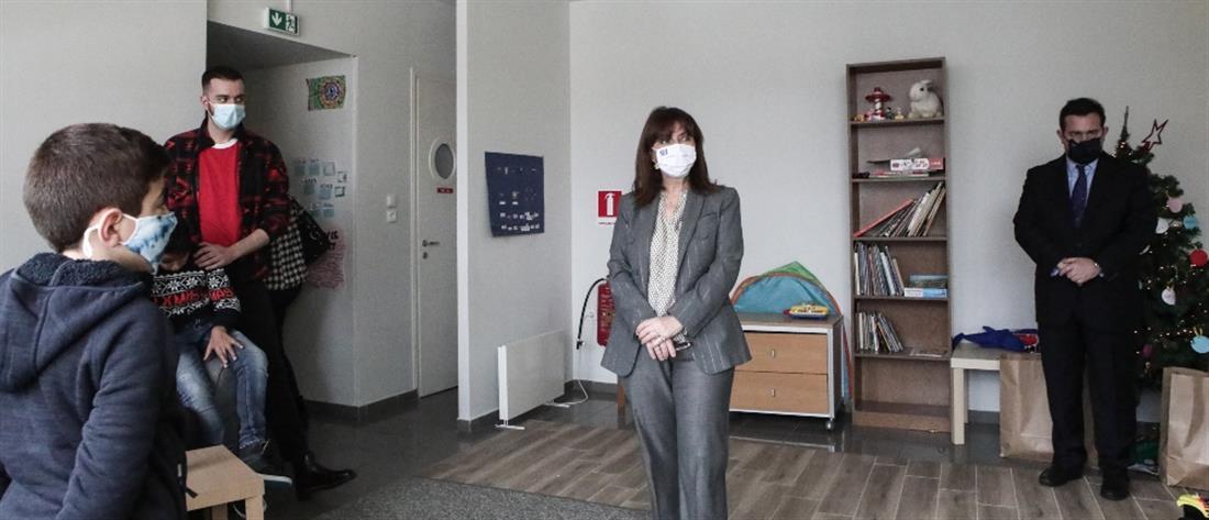 Σακελλαροπούλου: Η προστασία κατατρεγμένων παιδιών είναι υποχρέωση κάθε κοινωνίας