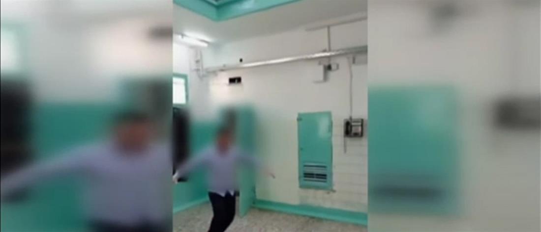Φυλακές Κορυδαλλού: πάρτι χωρίς μέτρα προστασίας (βίντεο)