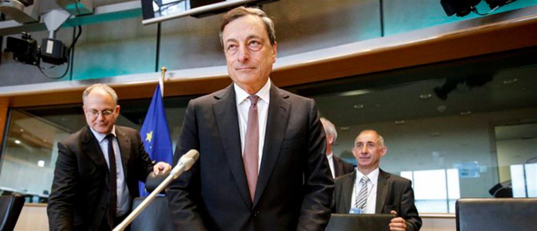 """""""Όχι"""" Ντράγκι στην συμμετοχή των ελληνικών ομολόγων στο QE"""