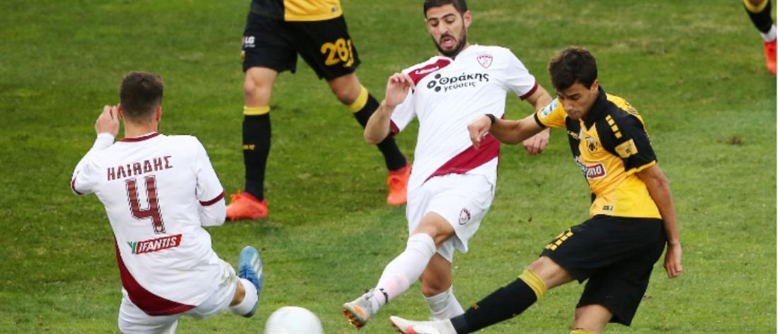 """ΑΕΚ – ΑΕΛ: """"Έβρεξε""""… γκολ στην Ριζούπολη"""