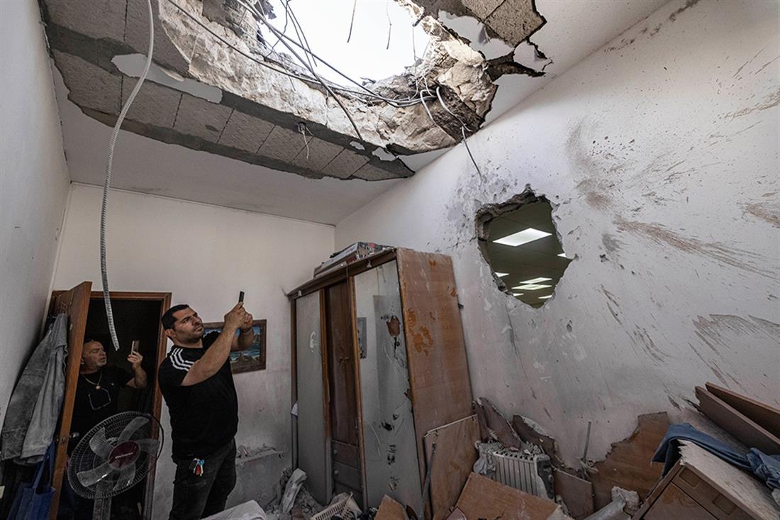 AP - Ισραήλ - Παλαιστίνιοι - επεισόδια
