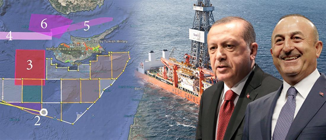 Πλοίο στην Κυπριακή ΑΟΖ στέλνει ο Ερντογάν