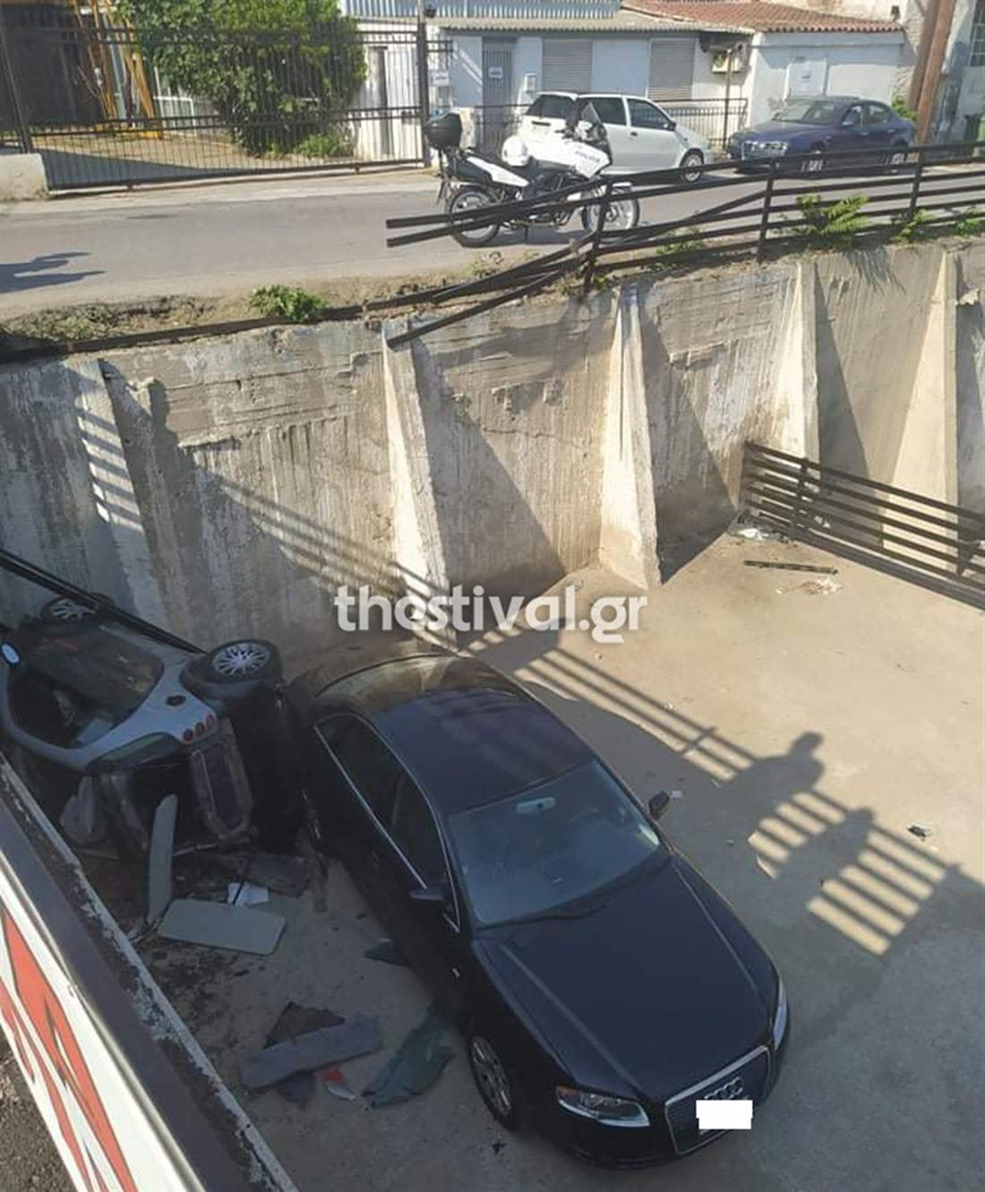Θεσσαλονίκη - αυτοκίνητο - πάρκινγκ - καταδίωξη