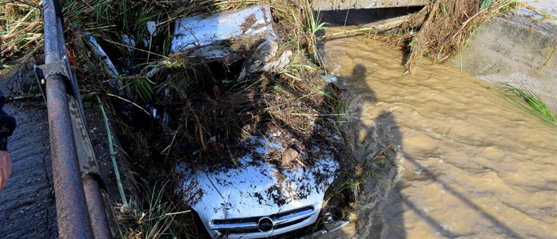 Πλημμύρες και απεγκλωβισμοί σε Ναυπακτία και Αχαΐα (εικόνες)