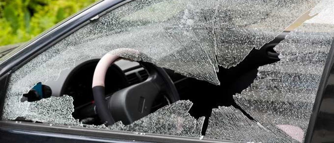 """Καταδίωξη σπείρας που """"ρήμαξε"""" αυτοκίνητα σε πάρκινγκ κέντρου διασκέδασης"""