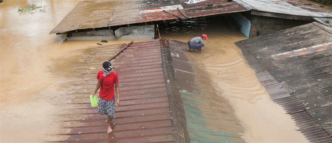 Φιλιππίνες: Φονικό πέρασμα του τυφώνα Βάμκο (εικόνες)
