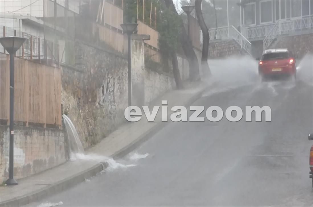 βροχόπτωση - Χαλκίδα