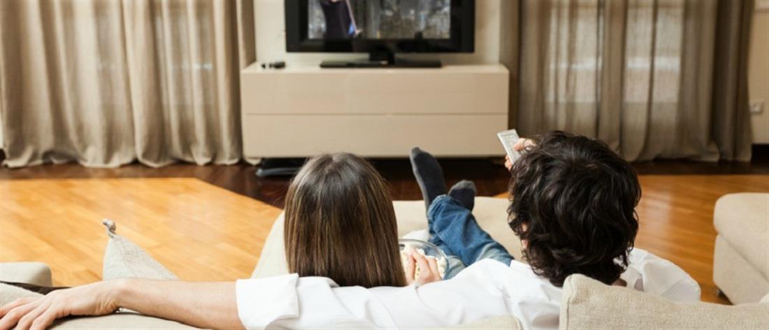 Ζευγάρι - τηλεόραση