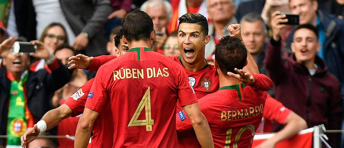 Nations League: στον τελικό με σούπερ Ρονάλντο η Πορτογαλία