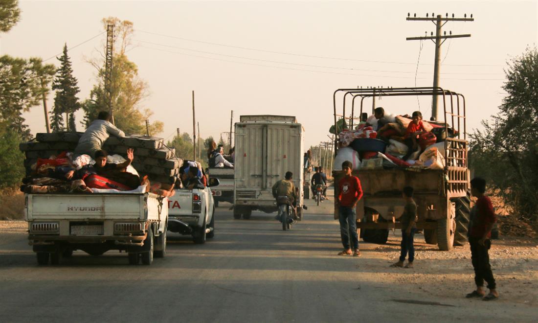 AP - Συρία - Τουρκική Εισβολή - πρόσφυγες