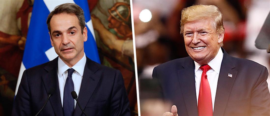 """Μητσοτάκης – Τραμπ: """"κλείδωσε"""" η συνάντηση στον Λευκό Οίκο"""