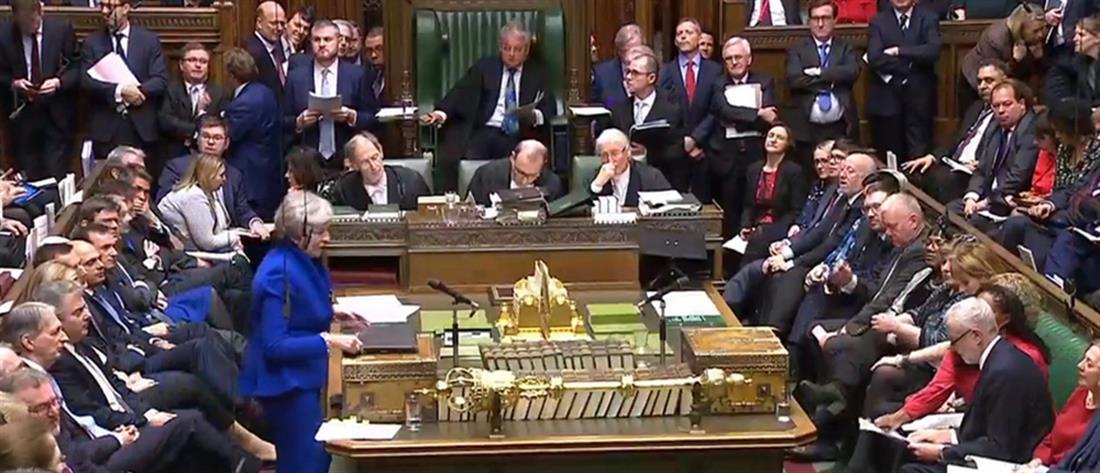 """""""Όχι"""" από το βρετανικό κοινοβούλιο σε παράταση και δεύτερο δημοψήφισμα για το Brexit"""