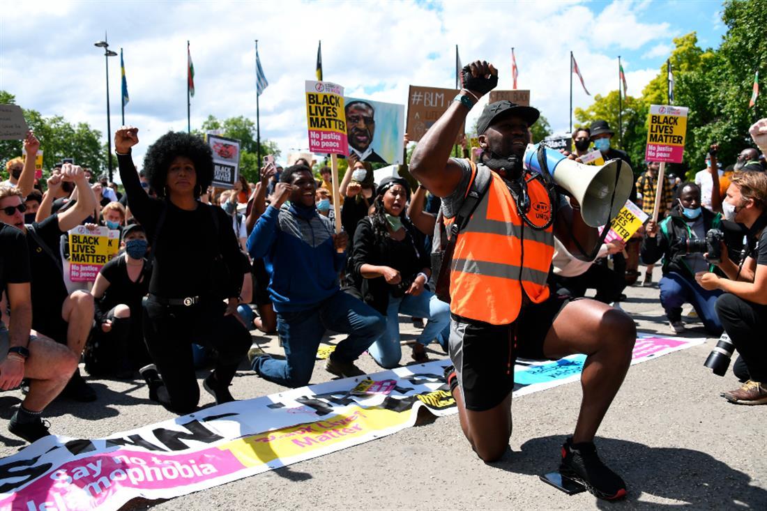 AP -Λονδίνο -διαδηλώσεις