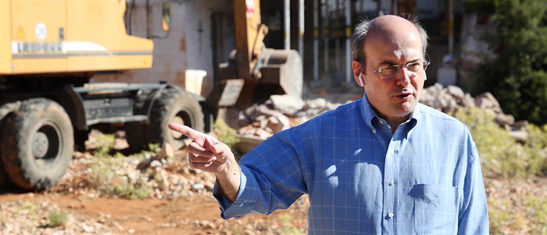 Χατζηδάκης: παράταση για την τακτοποίηση αυθαιρέτων