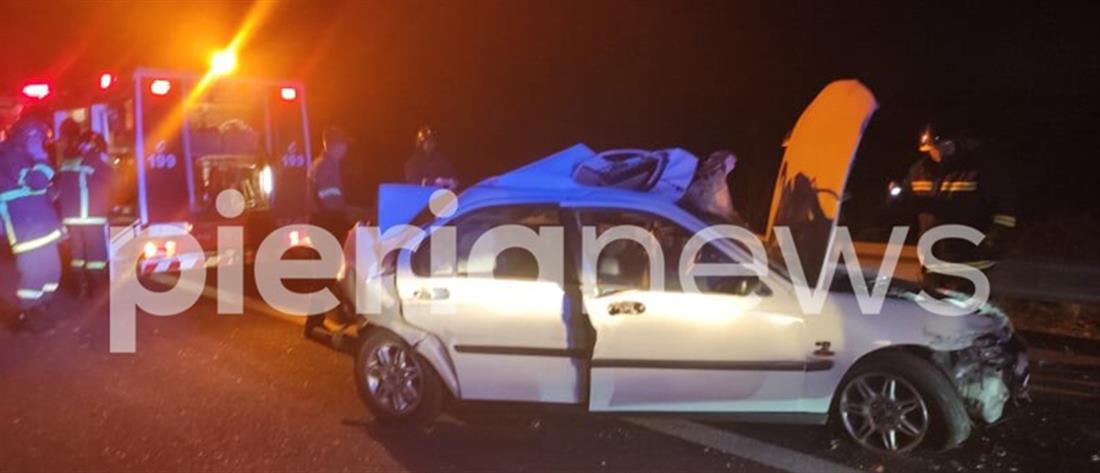 Νεκρός πατέρας μετά από σύγκρουση με φορτηγό (εικόνες)