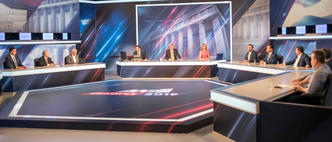 Πρώτος ο ΑΝΤ1 την βραδιά των εκλογών στο δυναμικό κοινό (εικόνες)