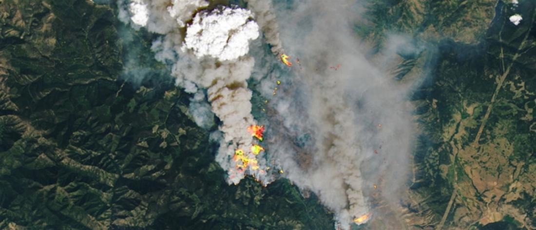 Καύσωνας στον Καναδά: Φωτιά έκανε στάχτη το Λίτον (βίντεο)