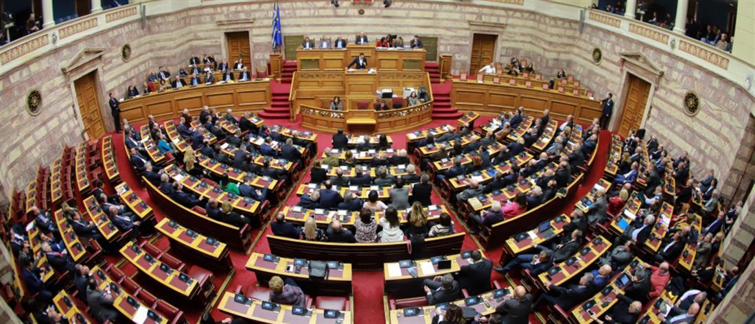 """Σκληρή """"μάχη"""" στην Βουλή για την ψήφο εμπιστοσύνης"""