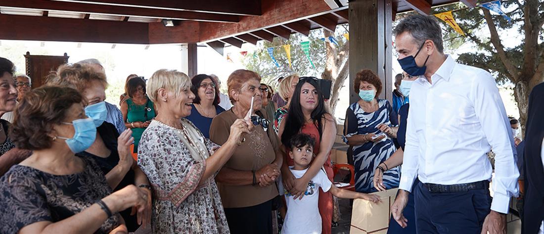 Μητσοτάκης: μείωση του ΕΝΦΙΑ για τα μικρά νησιά