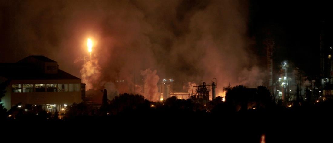 Φονική έκρηξη σε εργοστάσιο χημικών (βίντεο)