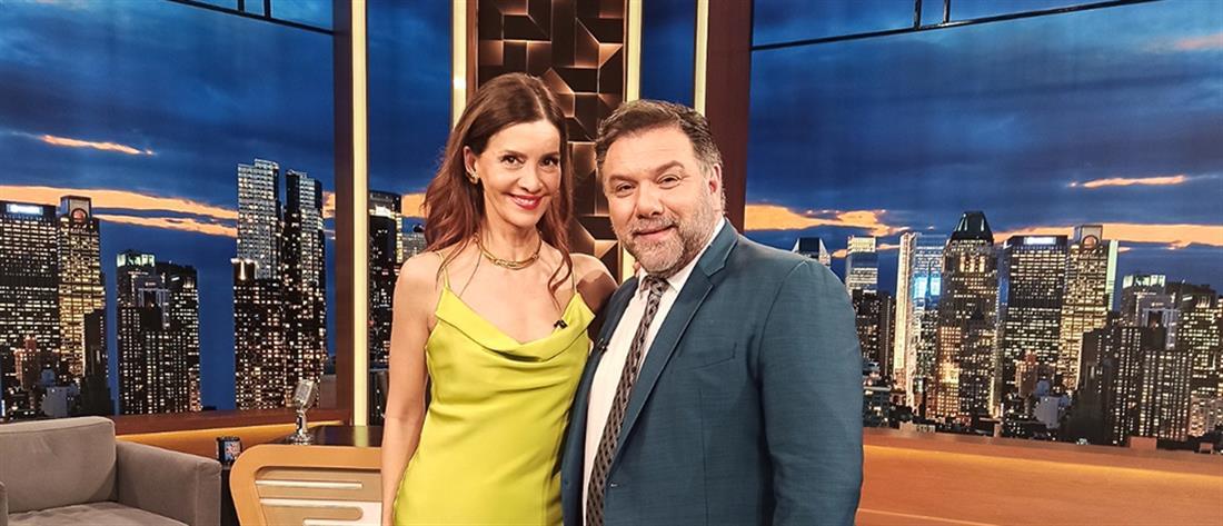 """Η Κατερίνα Λέχου στο """"The 2night Show"""" για το #MeToo"""