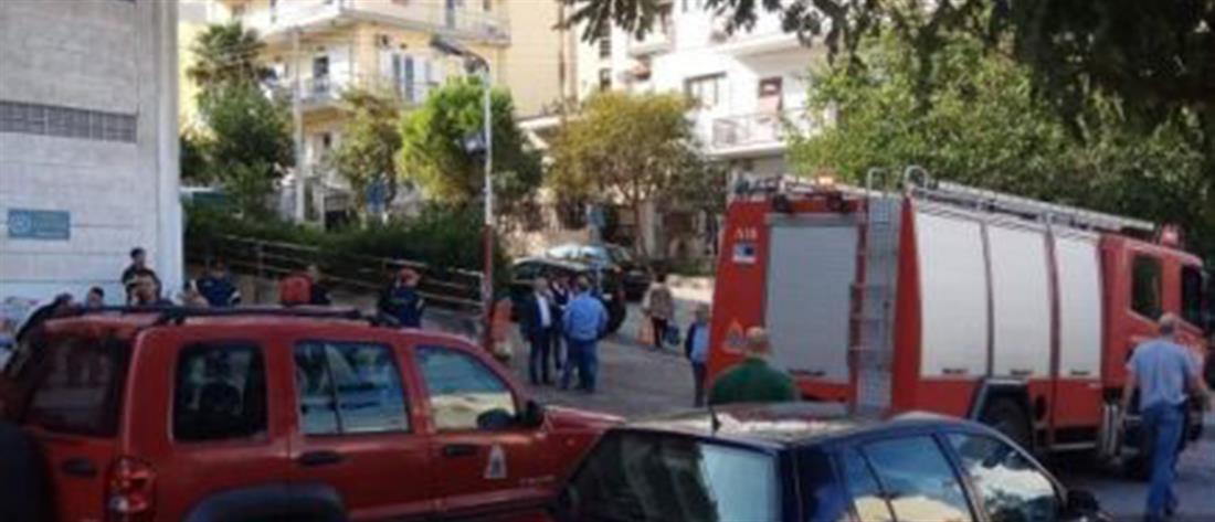 Νεκρός οδηγός που καταπλακώθηκε από το φορτηγό του