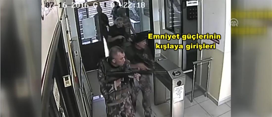 Βίντεο με τους 8 Τούρκους αξιωματικούς: είναι ένοπλοι και συμμετέχουν στο πραξικόπημα, λένε τουρκικά ΜΜΕ