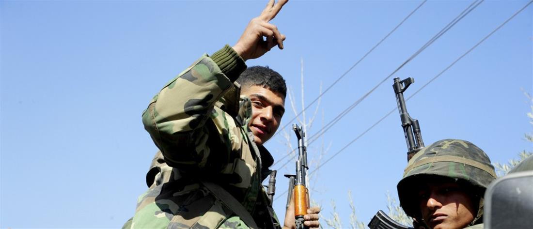 Προέλαση του στρατού του Άσαντ στην ανατολική Γούτα (βίντεο)