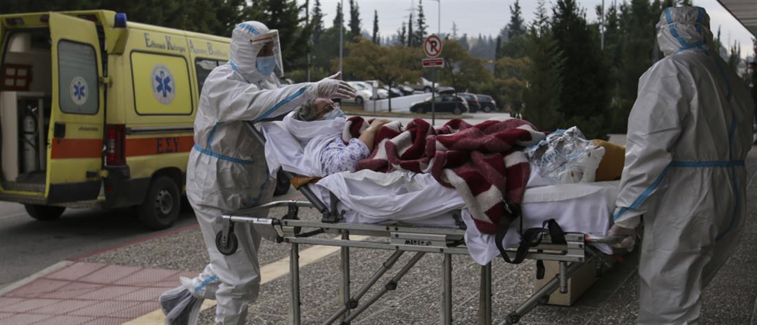 Κορονοϊός: Ρεκόρ διασωληνωμένων ασθενών και 2186 νέα κρούσματα