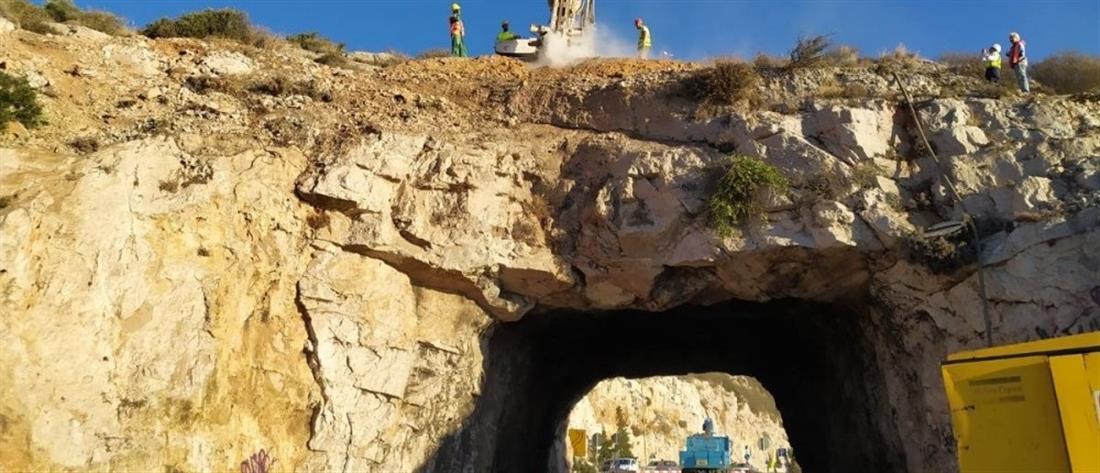 """""""Τρύπες του Καραμανλή"""": Με γρήγορους ρυθμούς προχωρούν τα έργα (εικόνες)"""