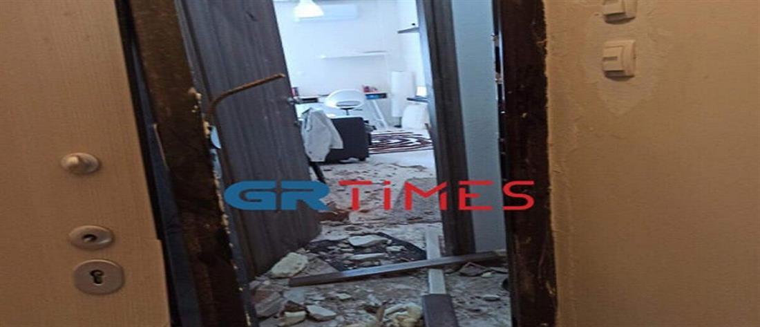 Έκρηξη από γκαζάκι ισοπέδωσε διαμέρισμα φοιτητή (εικόνες)
