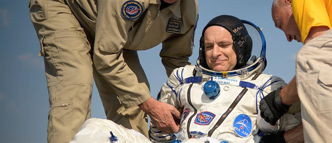 """Στη Γη μετά από 204 μέρες τα μέλη Διαστημικού Σταθμού """"Expedition 59"""" (βίντεο)"""