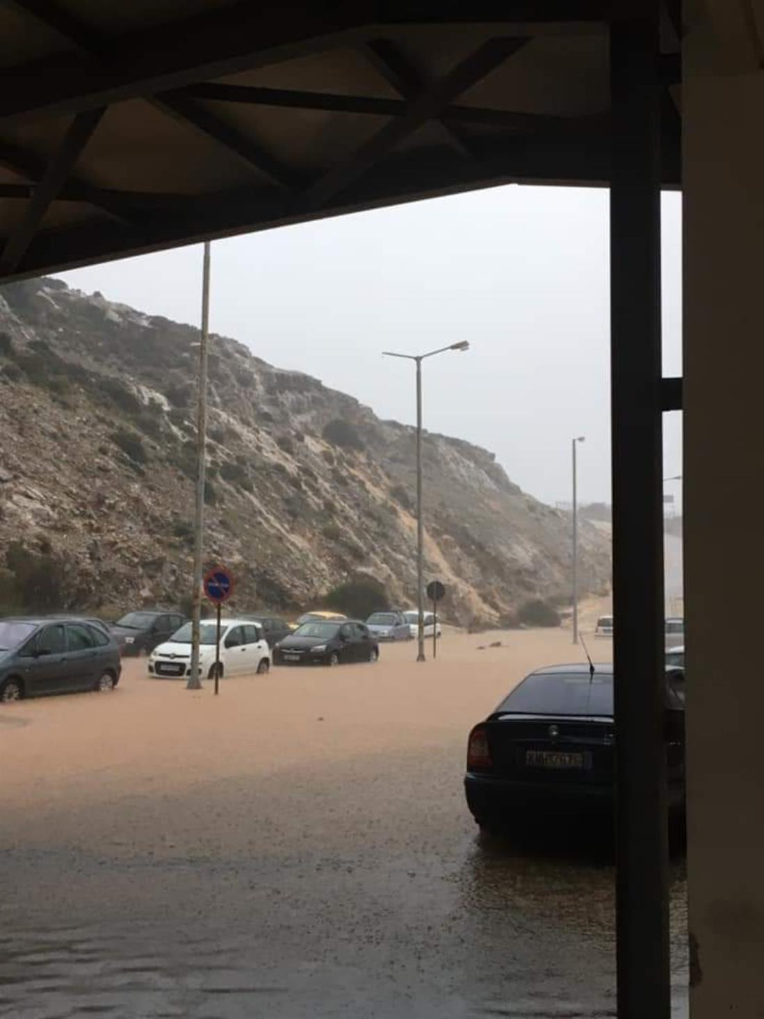 Ικαρία πλημμύρες