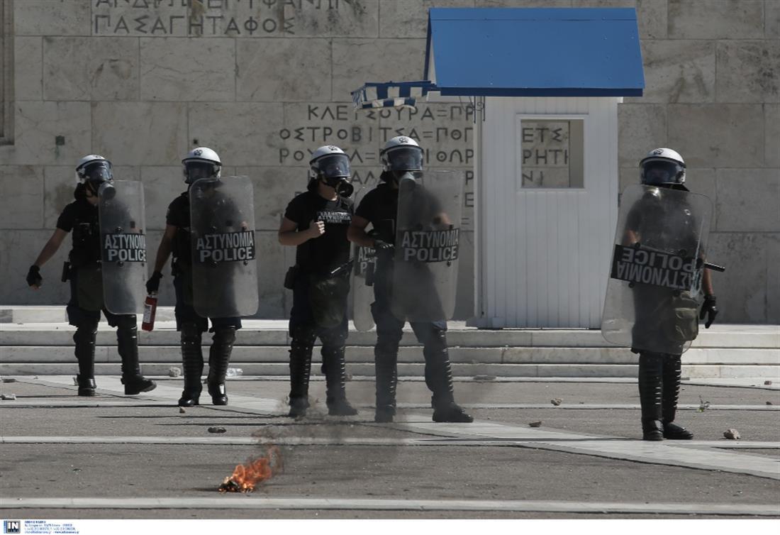 μαθητικό συλλαλητήριο - Αθήνα - επεισόδια