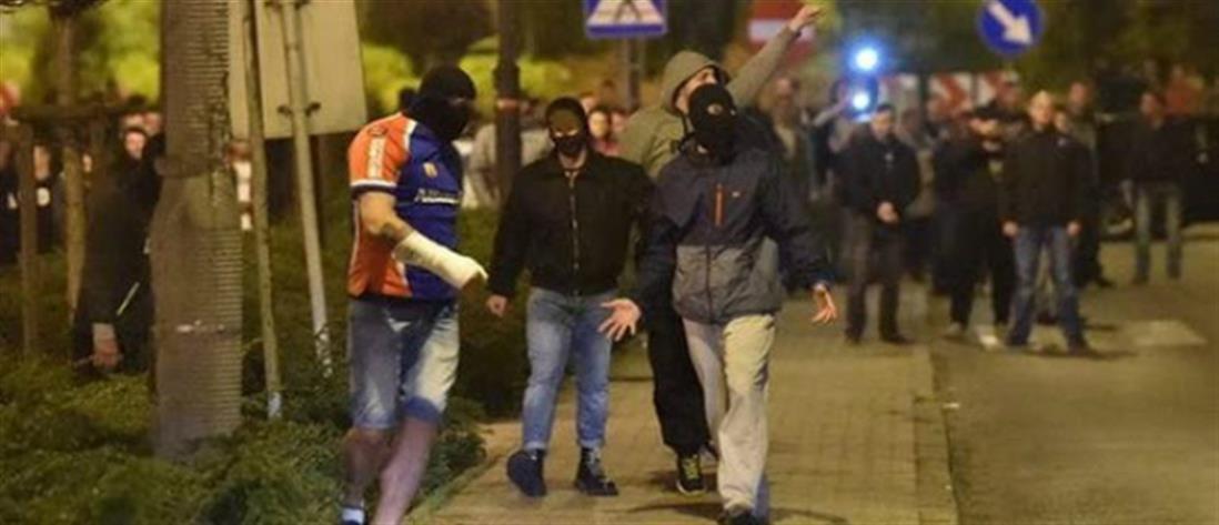 Θεσσαλονίκη: συλλήψεις μετά από συμπλοκή χούλιγκαν