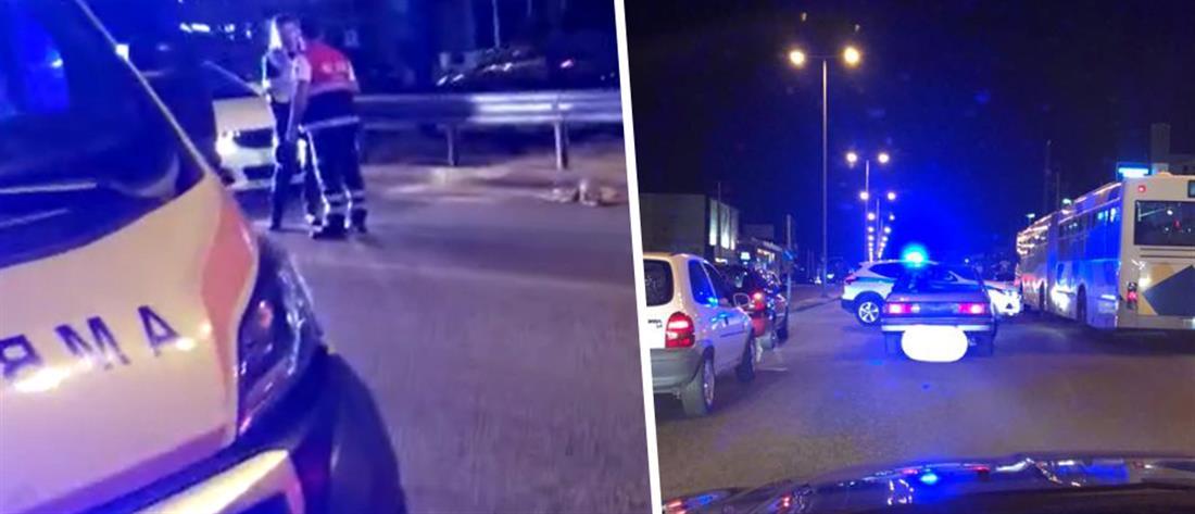 Διαμελίστηκε μοτοσικλετιστής σε φρικτό τροχαίο (εικόνες)