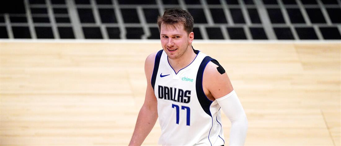 NBA – play off: εκπληκτικός Ντόνσιτς και προβάδισμα για το Ντάλας