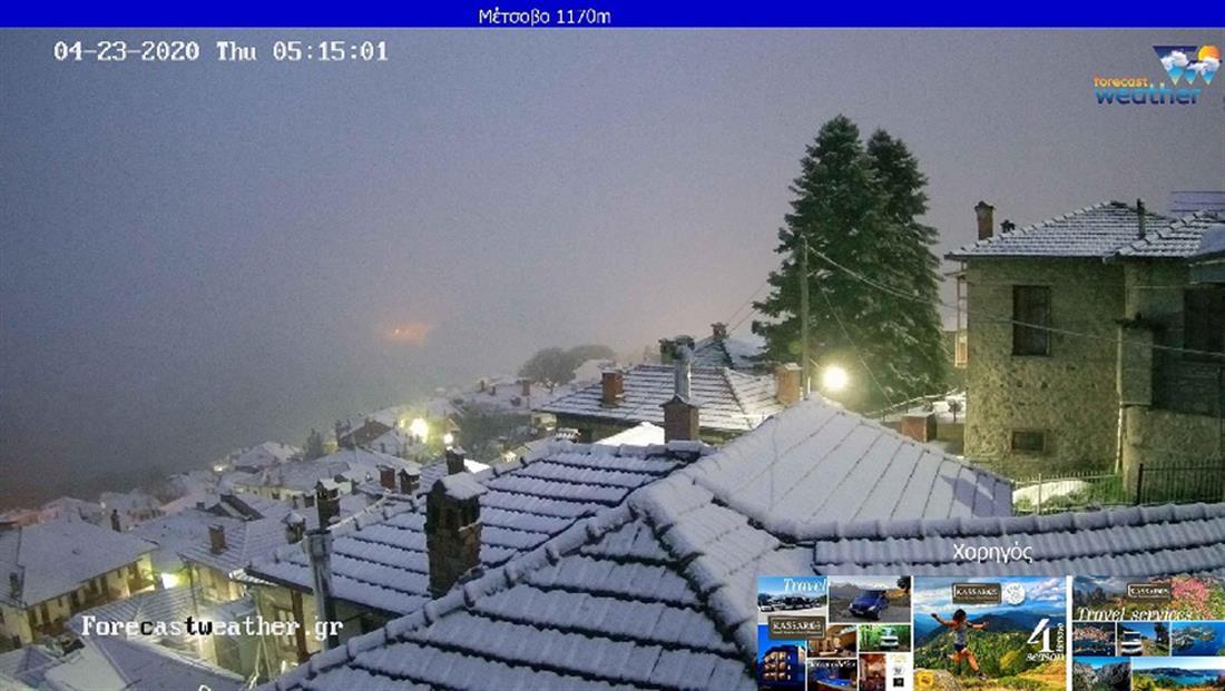 χιόνια - Μέτσοβο