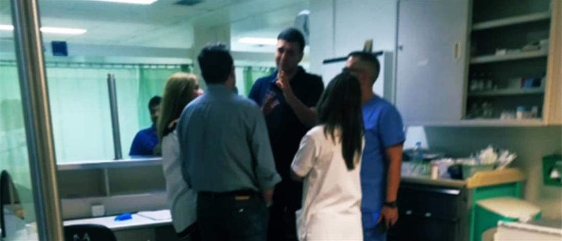 """Αιφνιδιαστική επίσκεψη Κικίλια στο νοσοκομείο """"Αττικόν"""""""