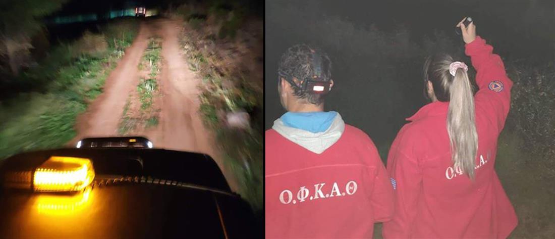 Αγωνία για υπερήλικα που εξαφανίστηκε στην Χαλκιδική (εικόνες)