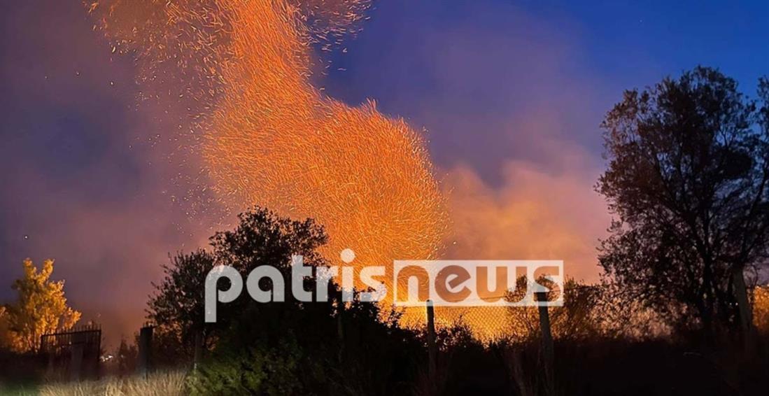 Φωτιές - Ηλεία