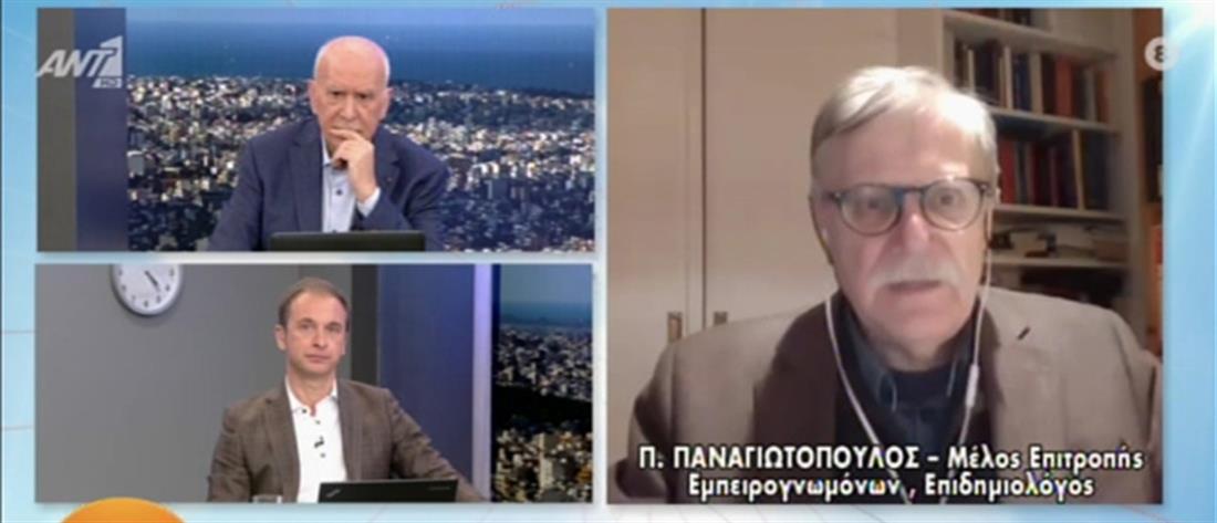 Παναγιωτόπουλος στον ΑΝΤ1: βελτιούμενη με αργούς ρυθμούς η κατάσταση