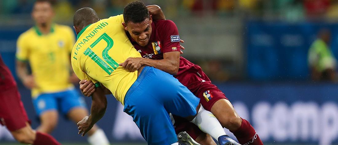 Copa America: όλα ανοιχτά στον Α' όμιλο μετά τη γκέλα της Βραζιλίας