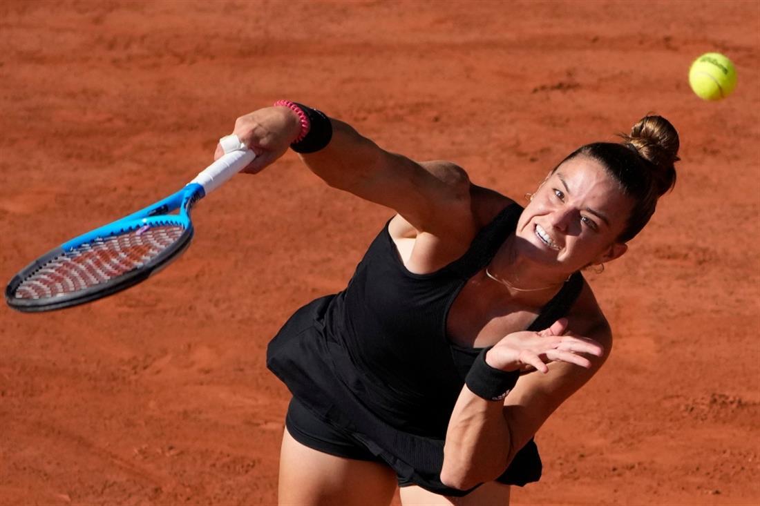 Μαρία Σάκκαρη - Roland Garros
