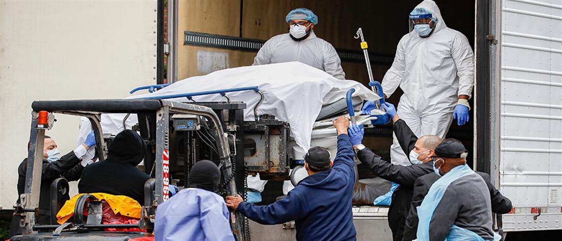 Κορoνοϊός - ΗΠΑ: Ένας νεκρός κάθε 40 δευτερόλεπτα την Τρίτη