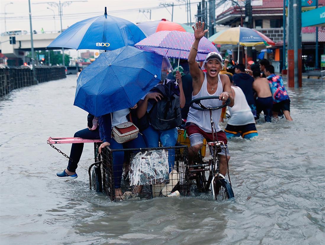 Φιλιππίνες - πλημμύρες
