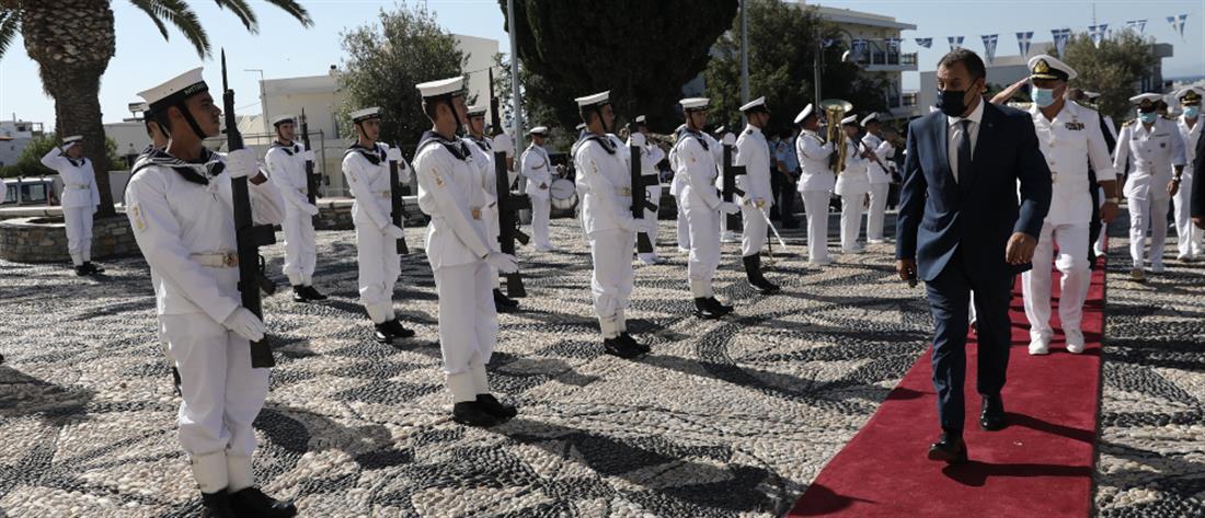 Παναγιωτόπουλος: Η Ελλάδα δεν λυγίζει, η Ελλάδα δεν είναι μόνη